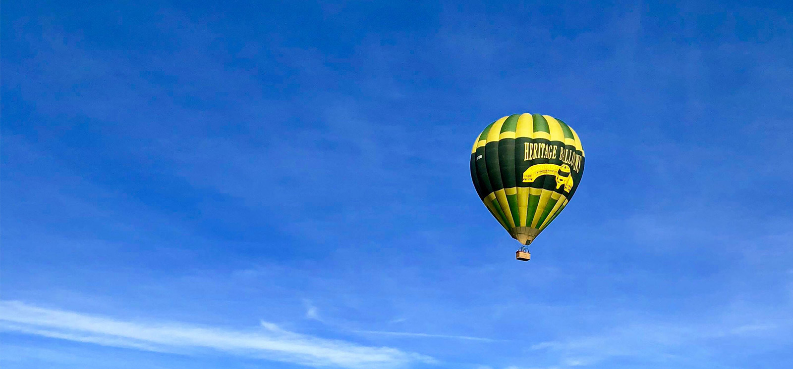 Yorkshire Balloon Flights hot air balloon over York