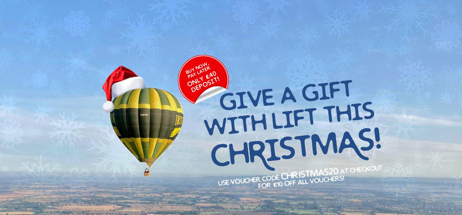 Yorkshire Balloon Flights Christmas Gift Deposit