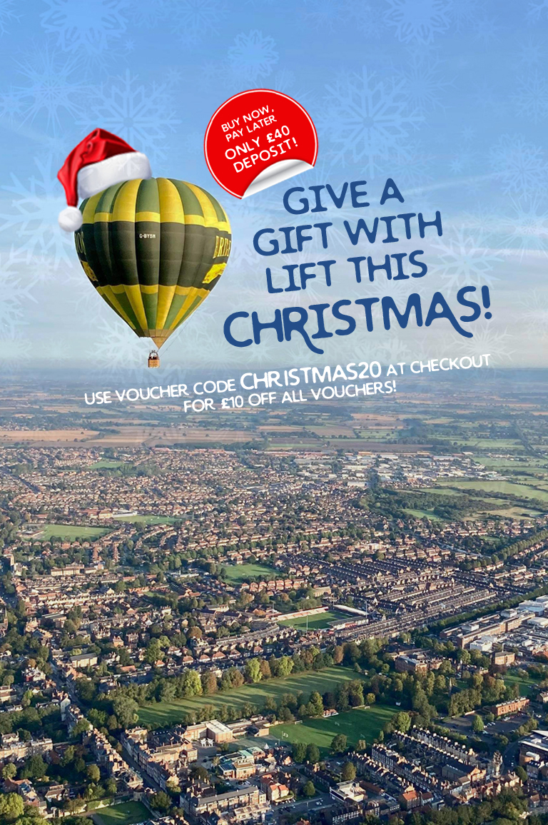 Yorkshire Balloon Flights Christmas Gift Mobile Deposit